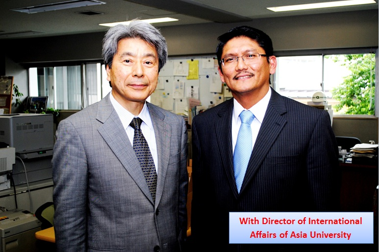 Extending Collaboration By Visiting  Asia University, Japan