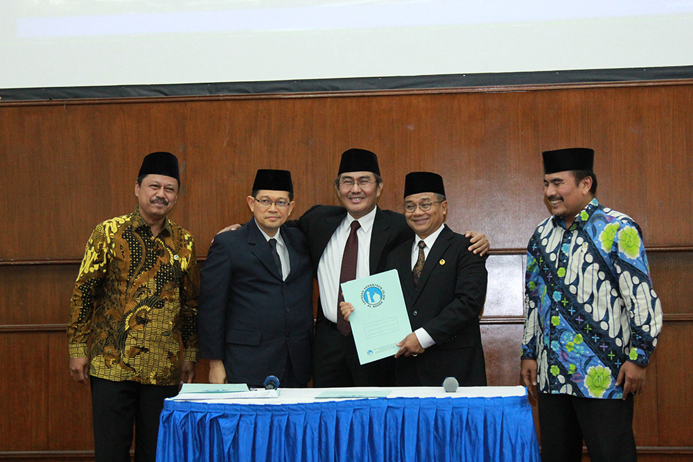 Inauguration Ceremony Of The New UAI Rector,  Dr. Ir. Asep Saepudin M.Sc.