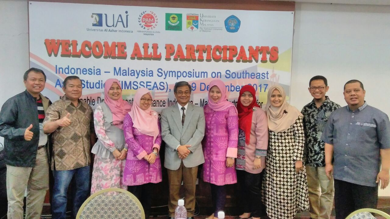 UAI Participated In The Indonesia-Malaysia Symposium On Southeast Asian Studies, 8-9 December 2017 In UKM, Malaysia