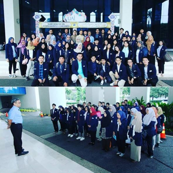 INTERNATIONAL RELATION MAJOR STUDENTS OF UAI VISITED JAPANESE EMBASSY JAKARTA