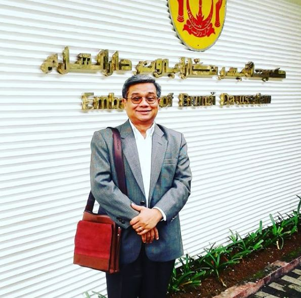 UAI'S RECTOR VISITED THE EMBASSY OF BRUNEI DARUSSALAM OF INDONESIA