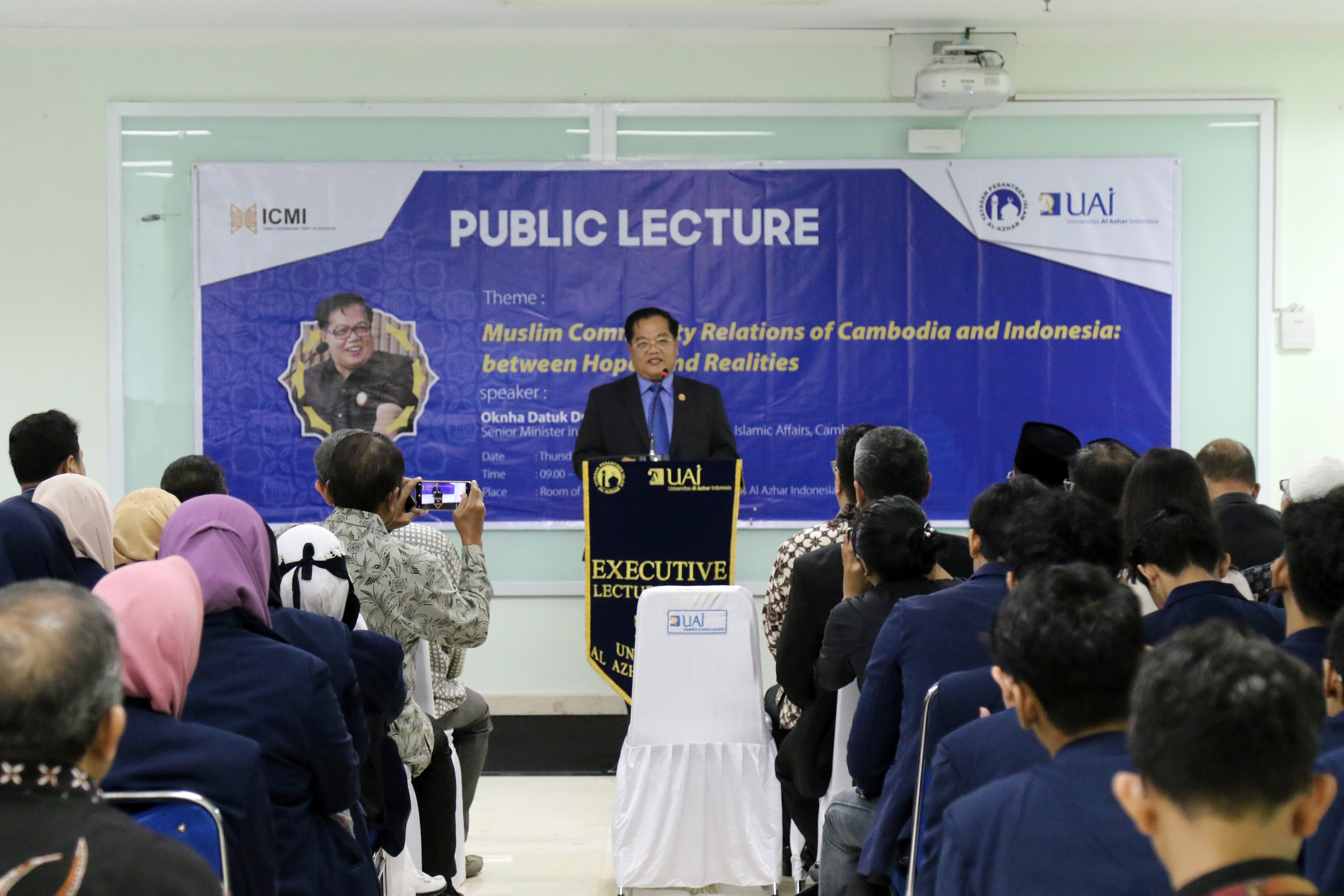 Al Azhar Indonesia University Held An Executive Lecture With Ministry Of Cambodia