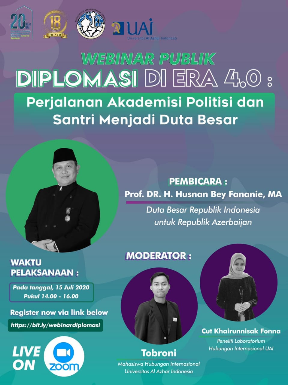 Tips To Success By Prof. DR. H. Husnan Bey Fananie, MA., The Former Ambassador Of The Republic Of Indonesia To The Republic Of Azerbaijan