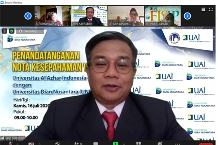 In The Midst Of Covid-19 Pandemic, UAI-UNDIRA Agrees On Tri Dharma Collaboration