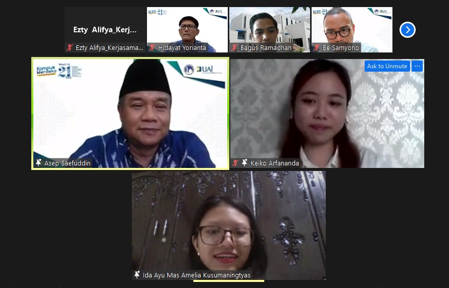 """""""What Matter Is Keep Yourself Healthy And Don't Be Afraid To Ask Questions"""" Rector Of UAI Advice To UAI Students That Was Selected For IISMA Program"""